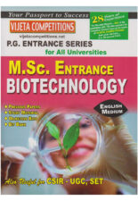 M.Sc Entrance Biotechnology