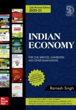 INDIAN ECONOMY 2020-21- For Civil Services, Universities and Other Examinations