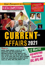 Current Affairs 2021 ( from Mar 2020 to Feb 2021 ) [ ENGLISH MEDIUM ]