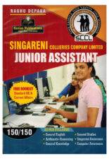 Singareni Junior Assistant [ ENGLISH MEDIUM ]
